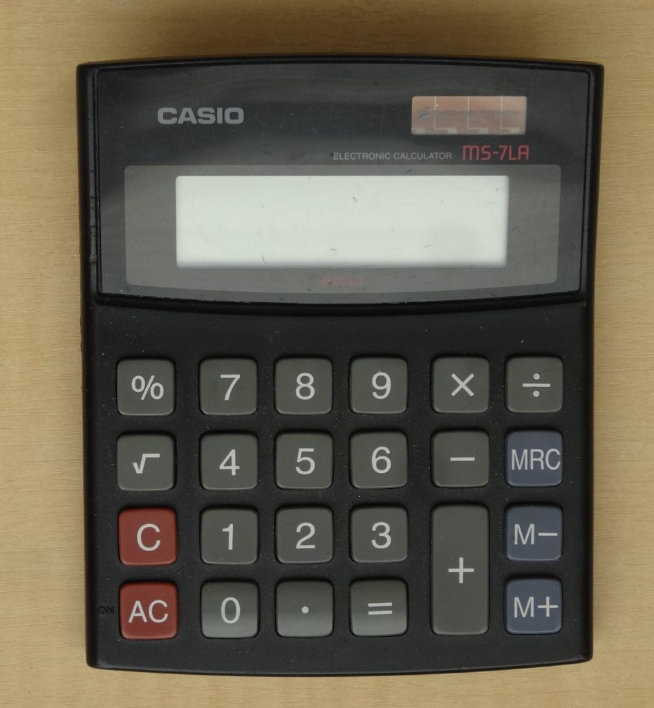 Casio MS-7LA