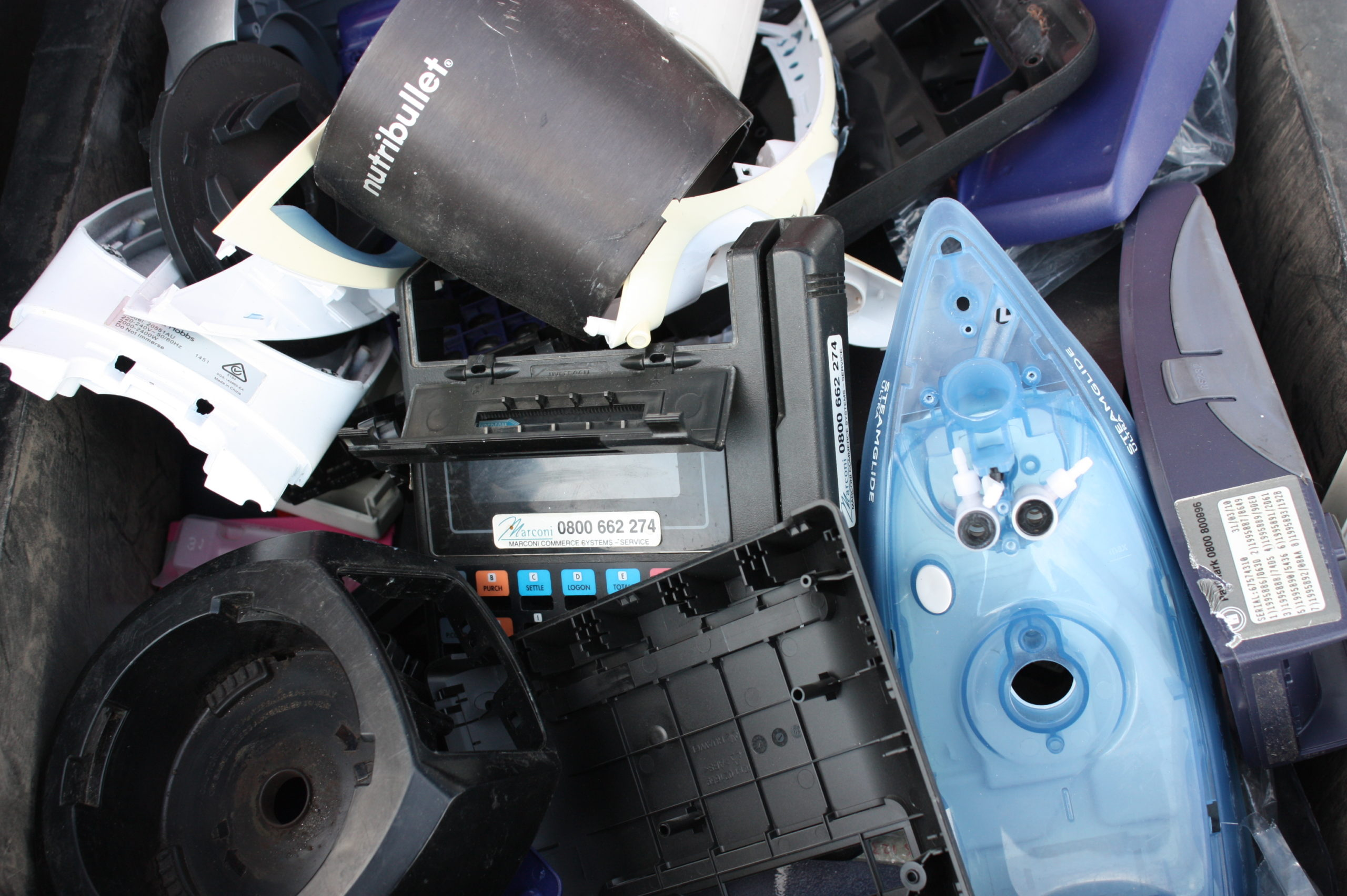 Assorted plastic parts