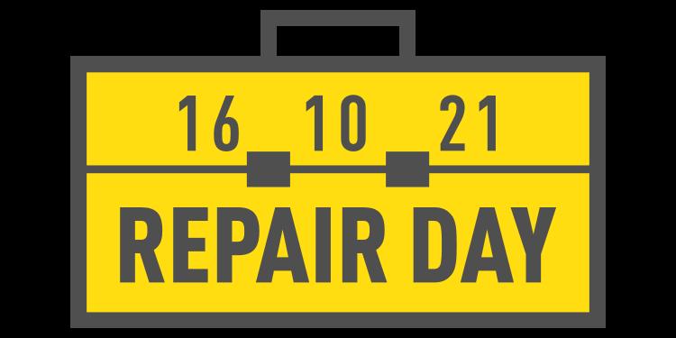 2021 International Repair Day logo
